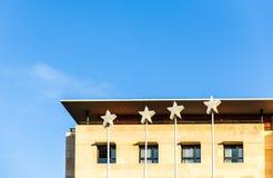 Four star hotel facade Stock Photography