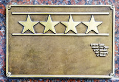 Four stars first class hotel Stock Images