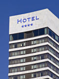 Four stars hotel building Stock Images