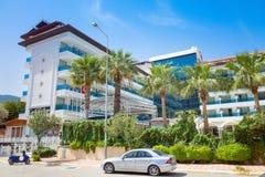 Four stars hotel in Icmeler, Turkey Stock Photo