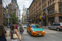Four steps to toronto Royalty Free Stock Images
