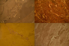 Four stone backgrounds Stock Image