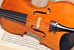 four-string violin Stock Photos
