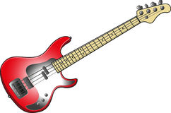 A001. Four strings guitar bass // Rock Royalty Free Stock Photo