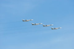 Four Su-24 Stock Photography