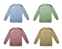 Four sweaters Stock Photos