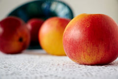 Four sweet apples Royalty Free Stock Images