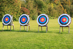 Four targets Royalty Free Stock Photography