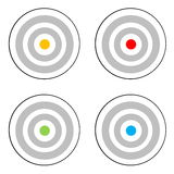 Four targets Royalty Free Stock Photo