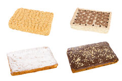 Four tasty cakes Stock Images