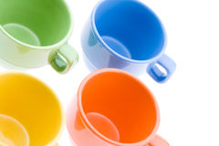 Four Tea Mugs Stock Image