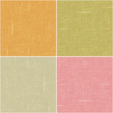 Four textured backgrounds. In crayon tones Stock Photos