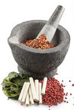 Four Thai Spices Stock Image