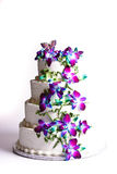 Four Tier Cake Royalty Free Stock Image