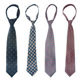 Four Ties Royalty Free Stock Images