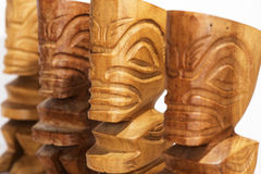 Four Tiki Stock Images