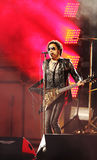 Four times Grammy Award winner Lenny Kravitz performed at the US Open 2013 opening night ceremony. FLUSHING, NY - AUGUST 26: Four times Grammy Award winner Lenny Stock Images