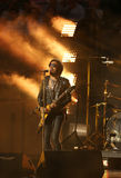 Four times Grammy Award winner Lenny Kravitz performed at the US Open 2013 opening night ceremony. FLUSHING, NY - AUGUST 26: Four times Grammy Award winner Lenny Royalty Free Stock Images
