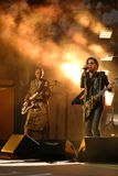 Four times Grammy Award winner Lenny Kravitz performed at the US Open 2013 opening night ceremony Stock Photo