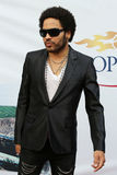 Four times Grammy Award winner Lenny Kravitz at the red carpet before US Open 2013 opening night ceremony. FLUSHING, NY - AUGUST 26: Four times Grammy Award Royalty Free Stock Photography