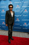Four times Grammy Award winner Lenny Kravitz at the red carpet before US Open 2013 opening night ceremony. FLUSHING, NY - AUGUST 26: Four times Grammy Award Stock Image