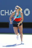 Four times Grand Slam champion Maria Sharapova practices for US Open 2014 Stock Photo