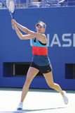 Four times Grand Slam champion Maria Sharapova practices for US Open 2014 Royalty Free Stock Image
