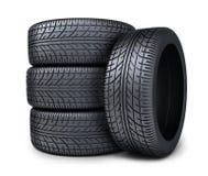 Four tire car Stock Photo