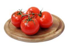four tomato Royalty Free Stock Photos