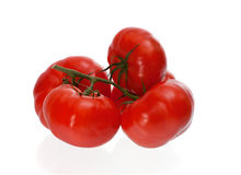 Four tomatoes Royalty Free Stock Images