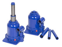 Four tons Hydraulic Bottle Car Jack Royalty Free Stock Photos