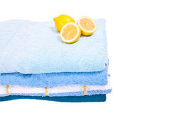 Four towels Royalty Free Stock Photo