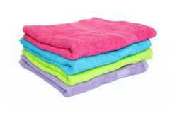 Four towels Royalty Free Stock Photos