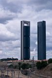 Four Tower Madrid Royalty Free Stock Image