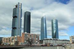 Modern Madrid Stock Image