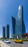 Four Towers Business Area of Madrid Royalty Free Stock Photo