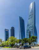 Four Towers Business Area of Madrid Stock Photo