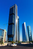 Four Towers Business Area. Madrid, Spain Stock Photography