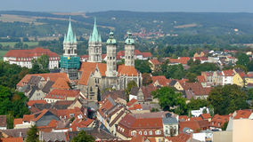 The four towers of the Naumburg cathedral Royalty Free Stock Photos