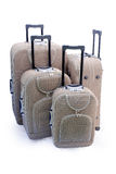 Four - travel suitcases Royalty Free Stock Images