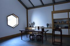 suzhou museum indoor royalty free stock images