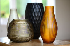 Four vases Stock Images