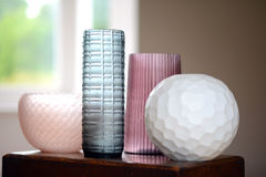 Four vases Royalty Free Stock Photography