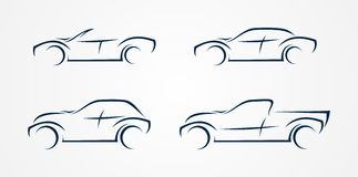 Four vector vehicle stock images