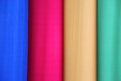 Four vertical vibrant colors background Stock Photo