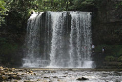 Four Waterfalls Walk in Brecon Beacons Royalty Free Stock Photography