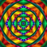 Four Way Kaleidoscope stock illustration