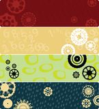 Four web banners Royalty Free Stock Images
