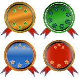Four web icons Royalty Free Stock Image