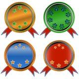 Four web icons Royalty Free Stock Image